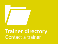 Trainer directory, contact a trainer